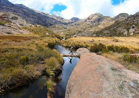 Randonnée et trekking dans la parc national Andringitra à Madagascar